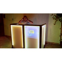 Cabina Iluminada LED Doble