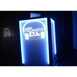 Cabina iluminada (DJ Booth)