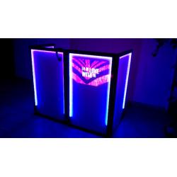 Cabina e Iluminación UV
